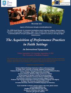 Flier for Symposium 2015